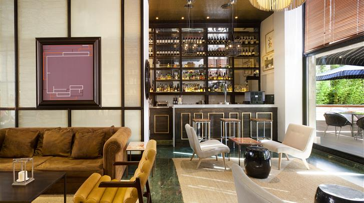 Barcelona, Hotel H10 Itaca, Lobby bar
