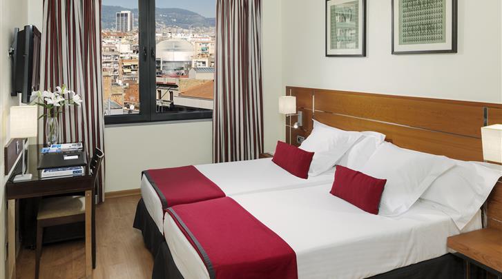Barcelona, Hotel H10 Itaca, Standaard kamer