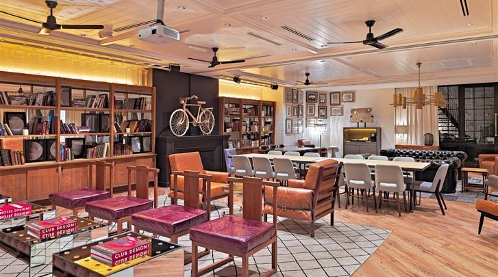 Barcelona, Hotel H10 Metropolitan, Lounge