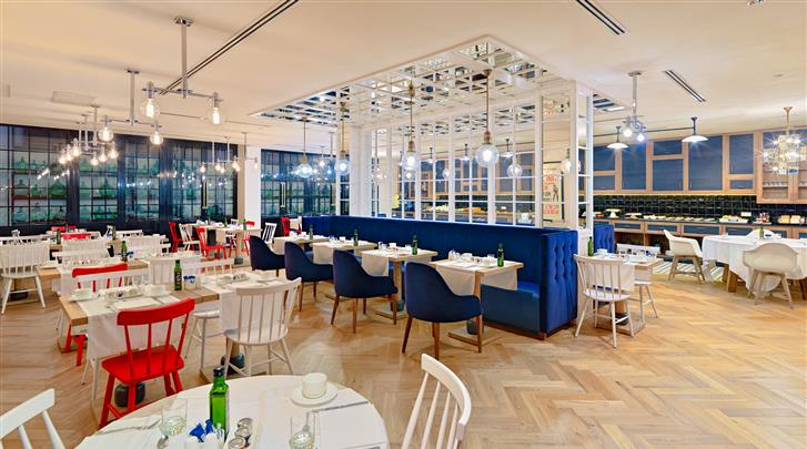 Barcelona, Hotel H10 Metropolitan, Restaurant