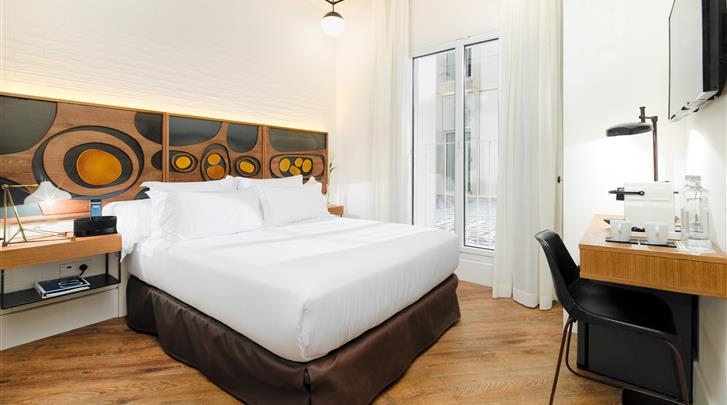 Barcelona, Hotel H10 Metropolitan, Standaard kamer