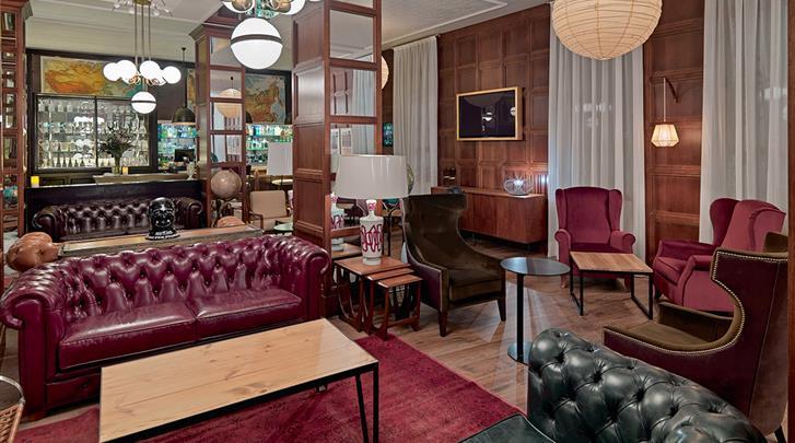 Barcelona, Hotel H10 Montcada, Lobby