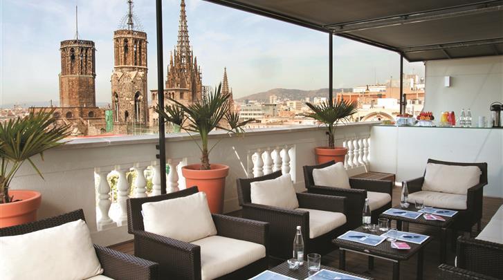Barcelona, Hotel H10 Montcada, Lounge bar