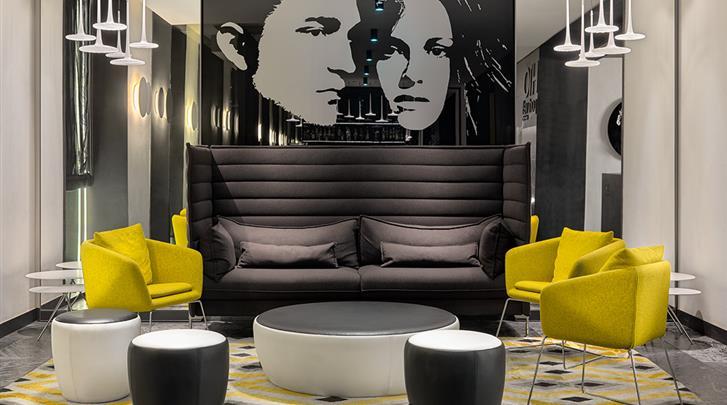 Barcelona, Hotel H10 Port Vell, Lobby