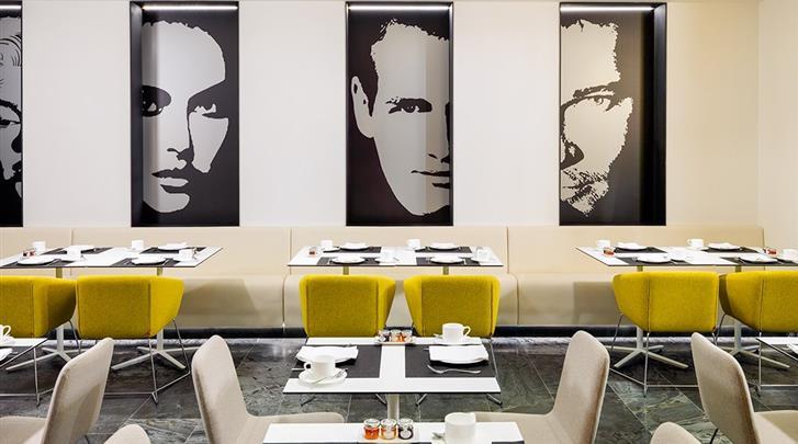 Barcelona, Hotel H10 Port Vell, Restaurant