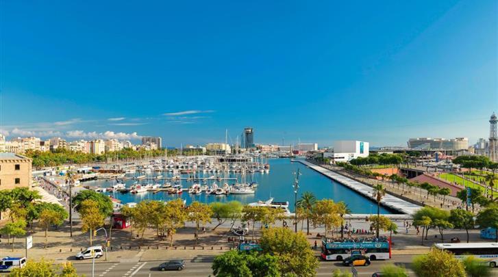 Barcelona, Hotel H10 Port Vell, Uitzicht