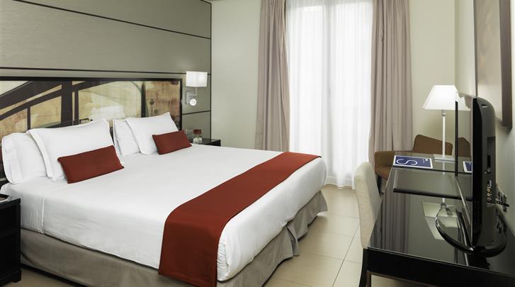Barcelona, Hotel H10 Universitat, Standaard kamer