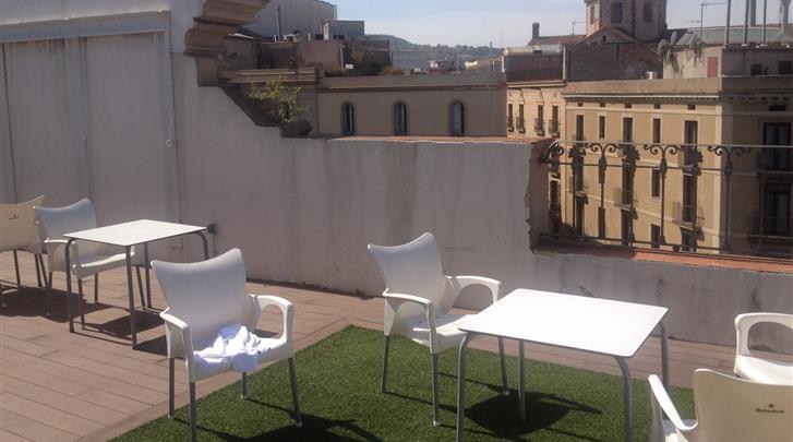 Barcelona, Hotel Internacional Cool Ramblas Barcelona, Terras