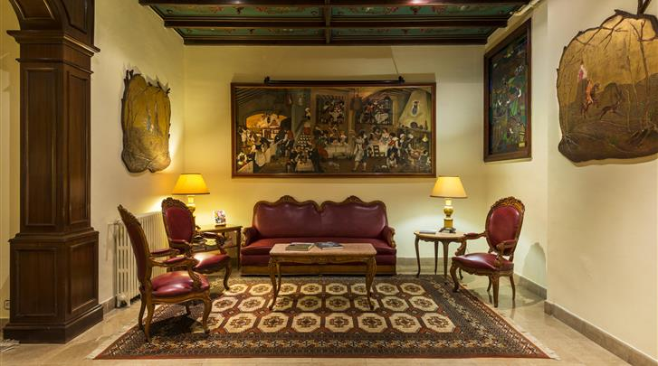 Barcelona, Hotel Meson Castilla, Lounge