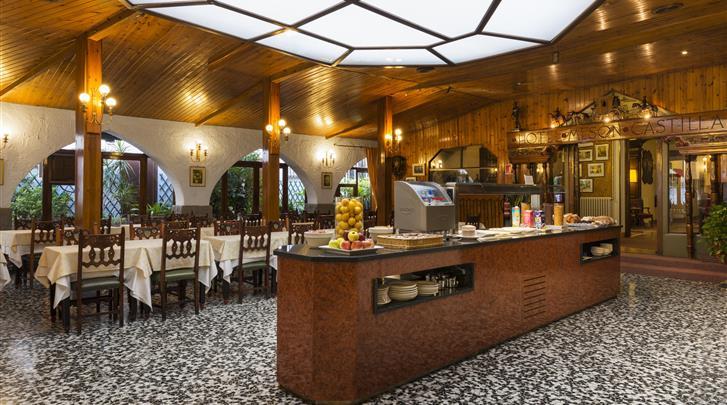 Barcelona, Hotel Meson Castilla, Ontbijtrestaurant
