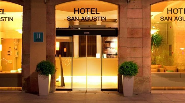 Barcelona, Hotel Sant Agusti, Façade hotel