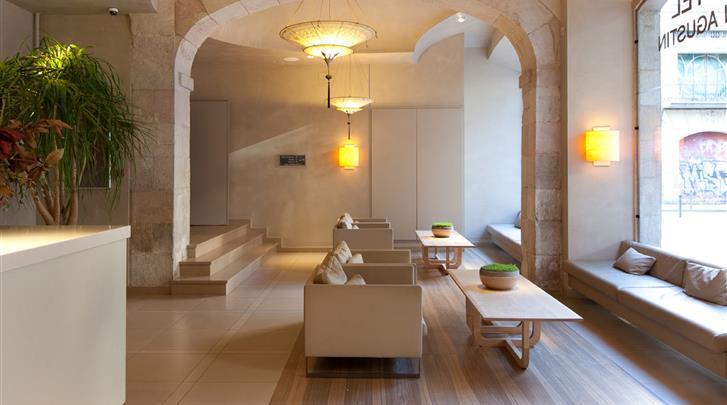 Barcelona, Hotel Sant Agusti, Lobby