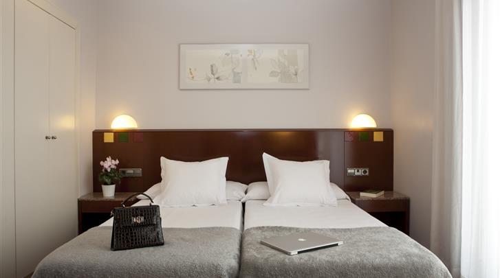 Barcelona, Hotel Sant Pau, Standaard kamer