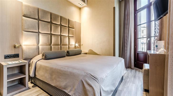 Barcelona, Hotel Suizo, Standaard kamer
