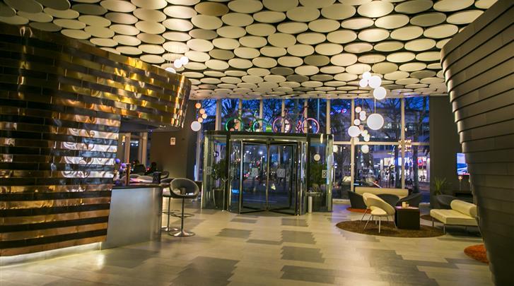 Barcelona, Hotel The Gates Diagonal, Receptie