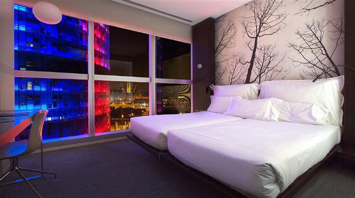 Barcelona, Hotel The Gates Diagonal, Standaard kamer