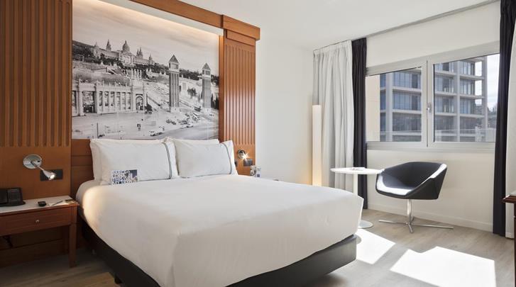 Barcelona, Hotel Tryp Apolo, Standaard kamer