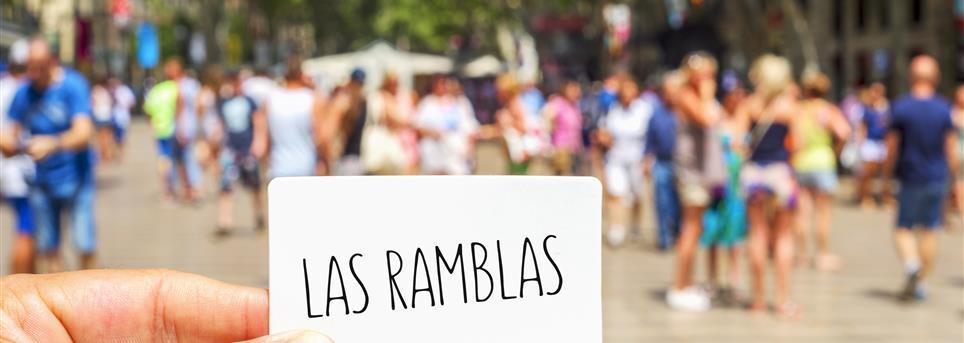 Barcelona, Las Ramblas Barcelona