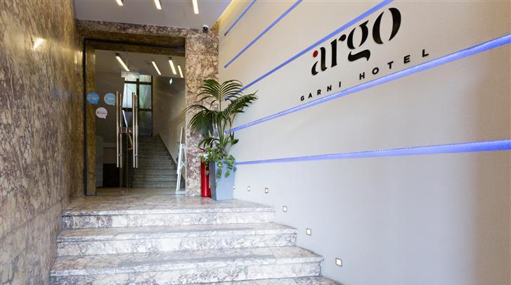 Belgrado, Hotel Argo, Entree