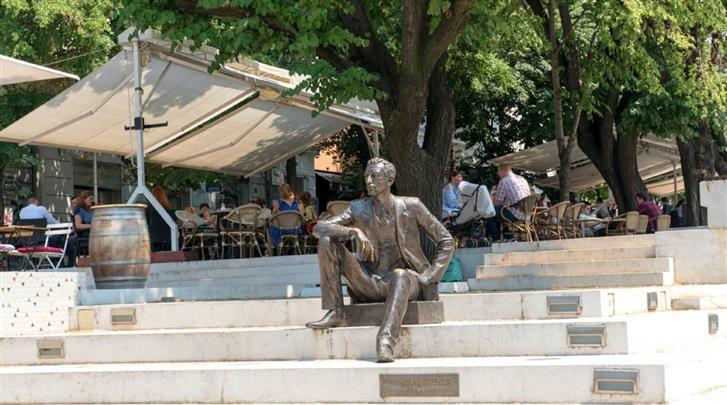 Belgrado, Hotel Argo, Gelegen aan het plein Cvetni trg