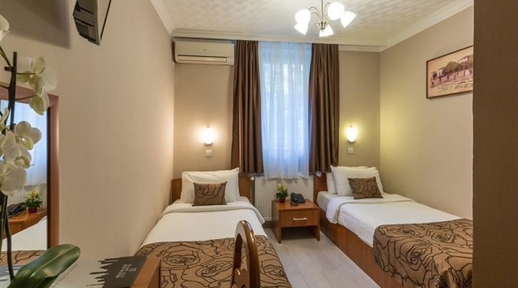 Belgrado, Hotel Belgrade City, Economy kamer