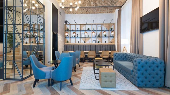 Belgrado, Hotel Capital, Lobby