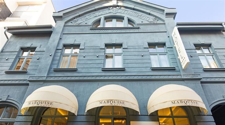 Belgrado, Hotel Marquise, Façade hotel