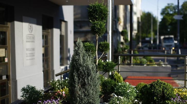 Belgrado, Hotel Side One Design, Façade hotel