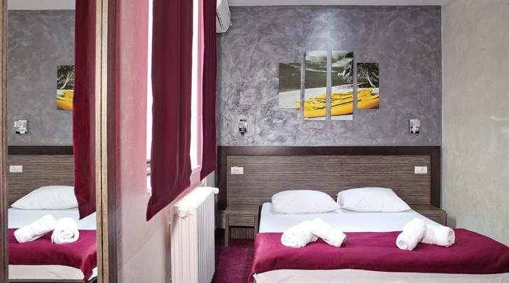 Belgrado, Hotel Side One Design, Standaard kamer