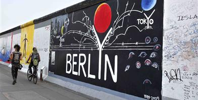Berlijn, East Side Gallery