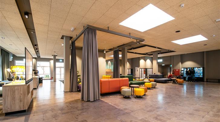 Berlijn, Hotel A&O Berlin Mitte, Lobby