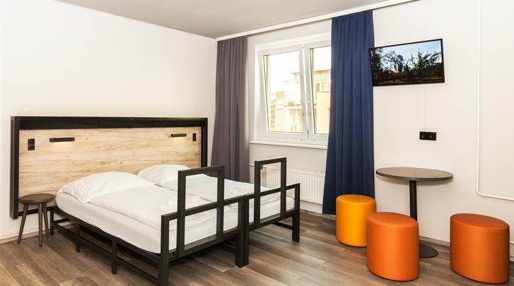 Berlijn, Hotel A&O Berlin Mitte, Standaard kamer