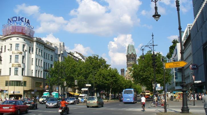 Berlijn, Hotel Abba Berlin, Kurfürstendamm op 250m