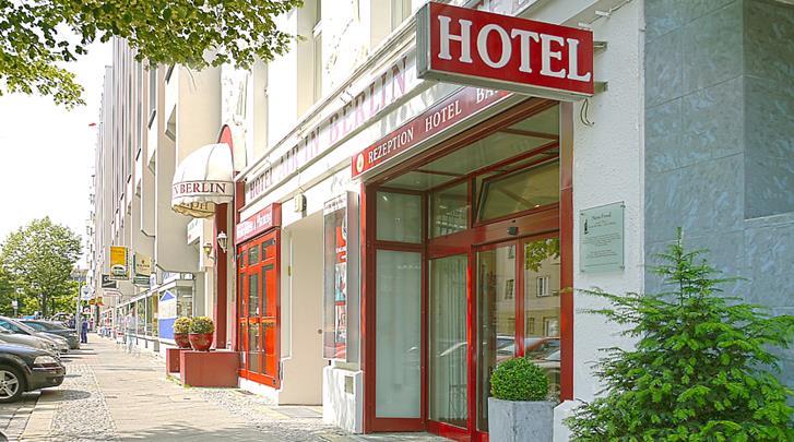 Berlijn, Hotel Air in Berlin, Façade hotel