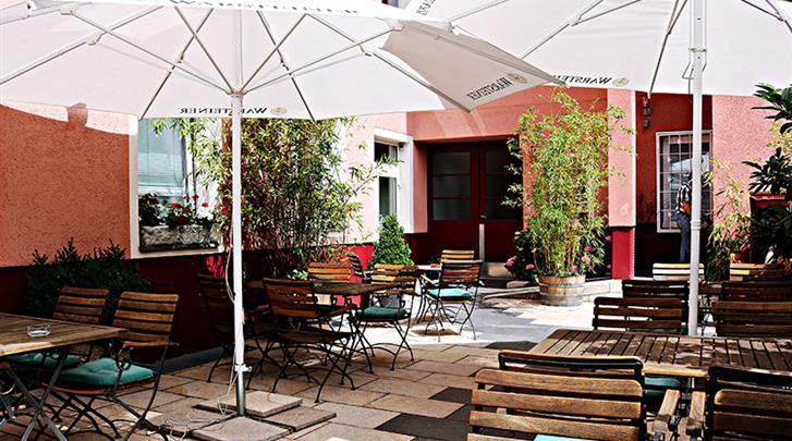 Berlijn, Hotel Air in Berlin, Hoteltuin