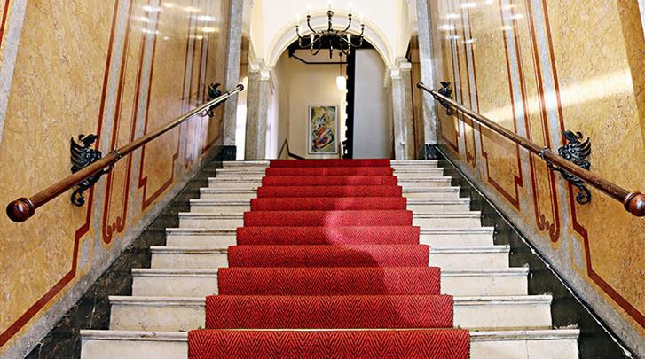 Berlijn, Hotel Air in Berlin, Trappenhuis