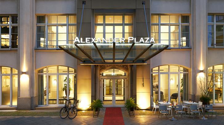 Berlijn, Hotel Alexander Plaza, Façade hotel