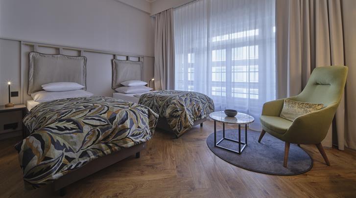 Berlijn, Hotel Alexander Plaza, Premium kamer