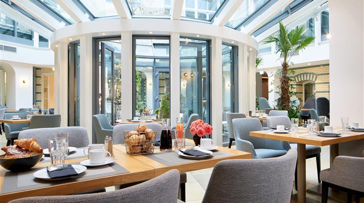 Berlijn, Hotel Alexander Plaza, Restaurant