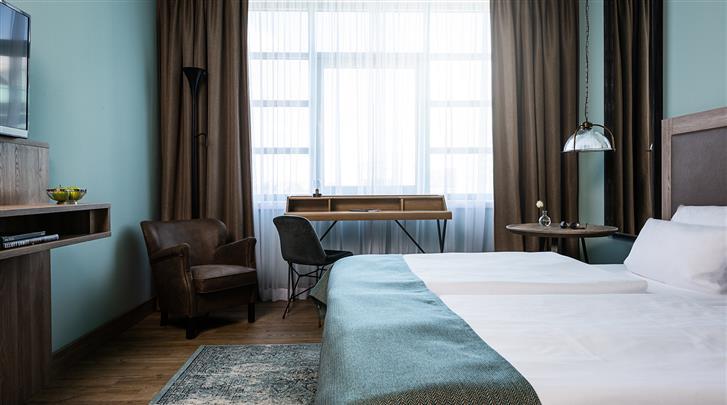Berlijn, Hotel Ameron Abion Spreebogen Waterside, Standaard kamer