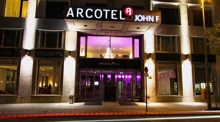 Berlijn, Hotel Arcotel John F., Façade hotel