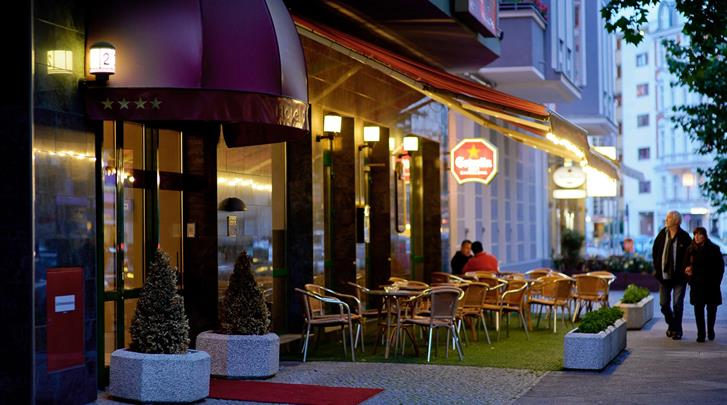 Berlijn, Hotel Artim, Façade hotel