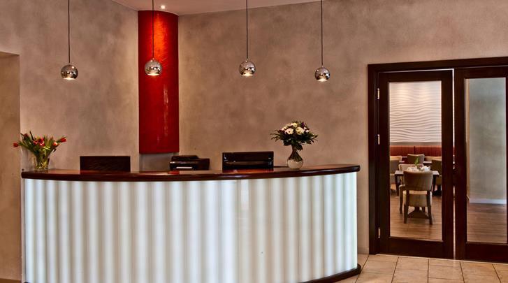 Berlijn, Hotel Artim, Receptie