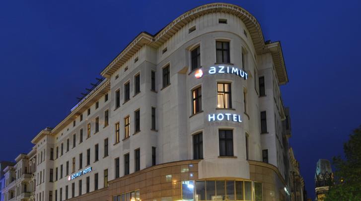 Berlijn, Hotel Azimut Berlin Kurfürstendamm, Façade hotel