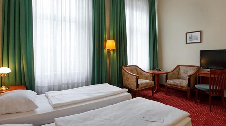 Berlijn, Hotel Azimut Berlin Kurfürstendamm, Kamervoorbeeld