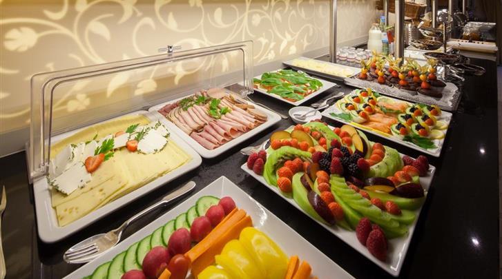 Berlijn, Hotel Brandies, Ontbijtbuffet