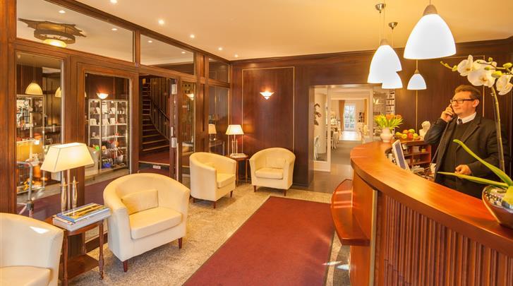 Berlijn, Hotel Brandies, Receptie