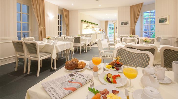Berlijn, Hotel Brandies, Restaurant