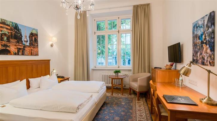 Berlijn, Hotel Brandies, Standaard kamer