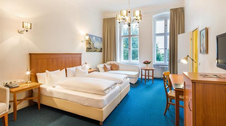 Berlijn, Hotel Brandies, Superior kamer